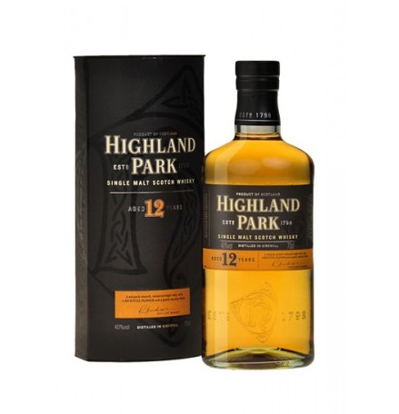 Highland Park Whisky, 12 Years