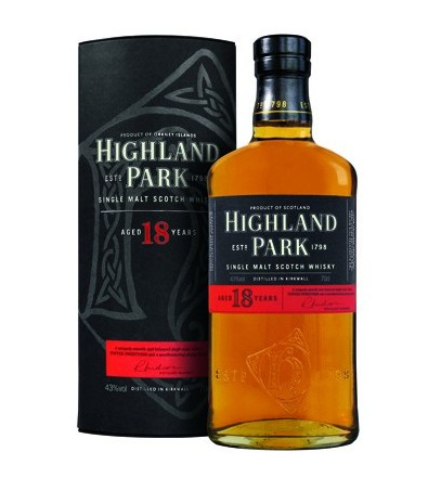 Highland Park Whisky, 18 Years