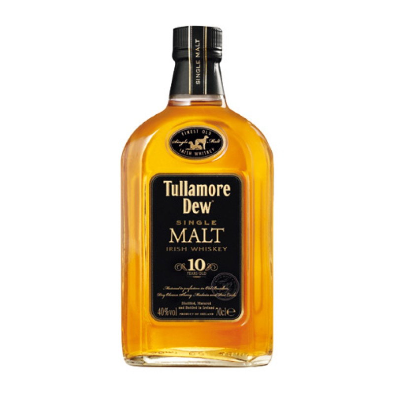 Tullamore Dew 10, Single Malt Whiskey