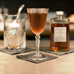 Manhattan Twist Cocktail