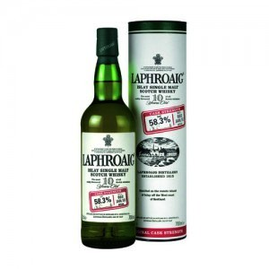 Der Laphroaig 10 Years Old Cask Strength